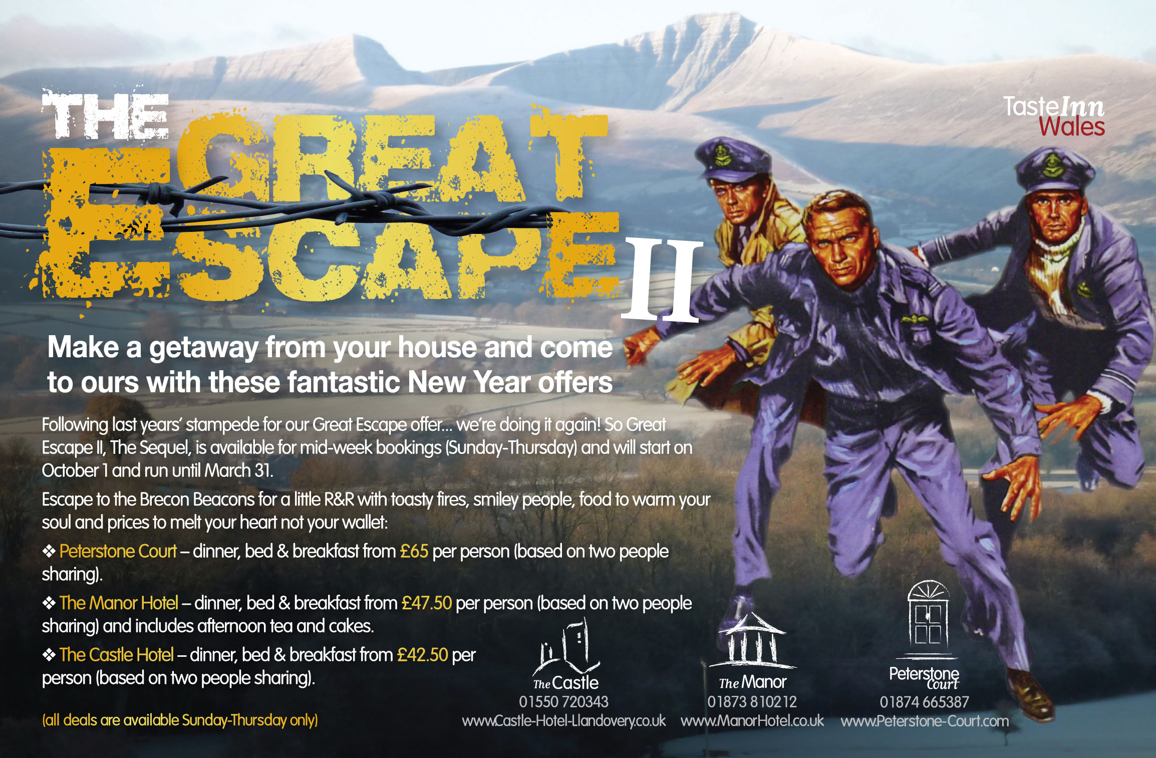 Great Escape is Back!