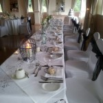 wedding reception top table