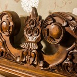 Manor Best Rm 12 carved headboard