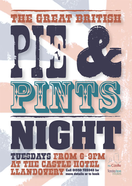 Pie & pints Night