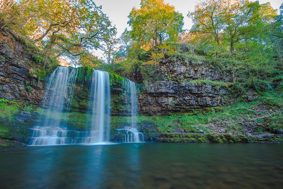 tal y bont waterfall - Brecon Beacons Walks